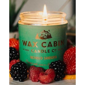 Wax Cabin Soy Candle 8oz. - Mermaid Sangria - Home & Lifestyle