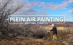 A Beginners Guide to Plein Air Painting - What Do I Need?