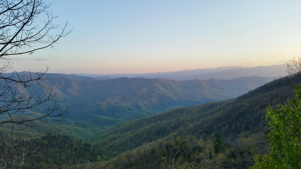 smoky mountains scenery
