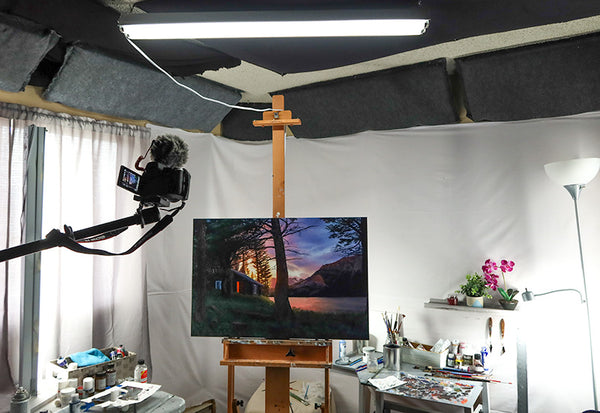 Lighting Your Art Studio Which Lights To Use For Painting And Drawing