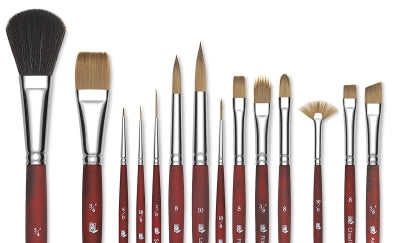 paint brushes for acrylics and oils