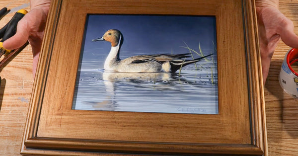 easily and beautifully frame your artwork from home