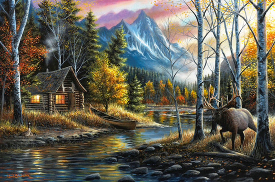 "Western Landscape Limited Edition Print - ""Living The Dream"""