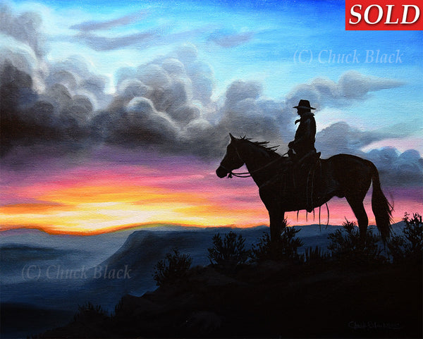 Original Landscape And Wildlife Paintings By Chuck Black