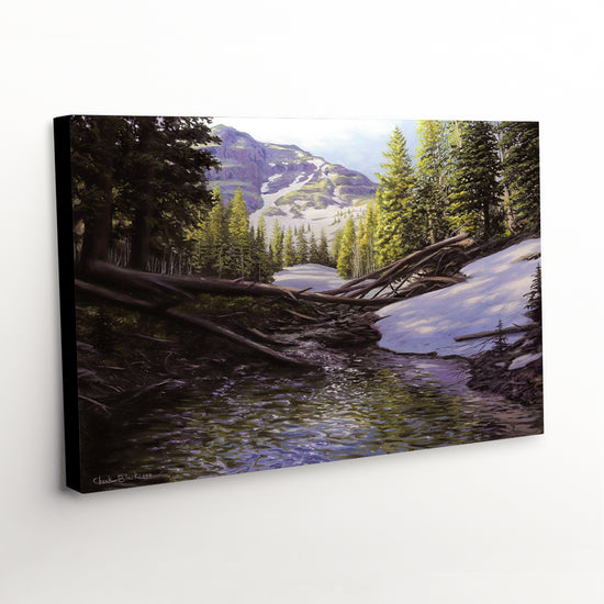 "Western Landscape Canvas Print - ""A Beautiful Morning"""