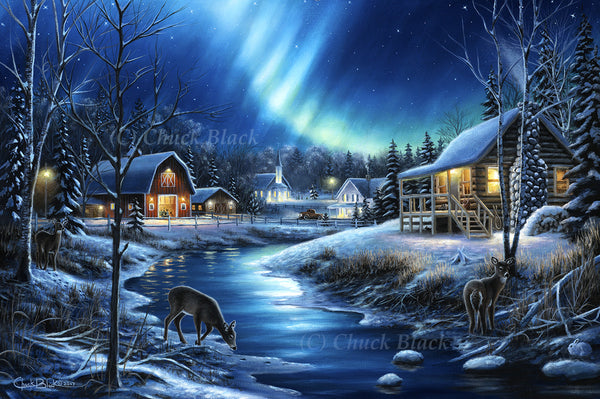 "Winter Landscape Canvas Art Print - ""Beauty In Everything"""