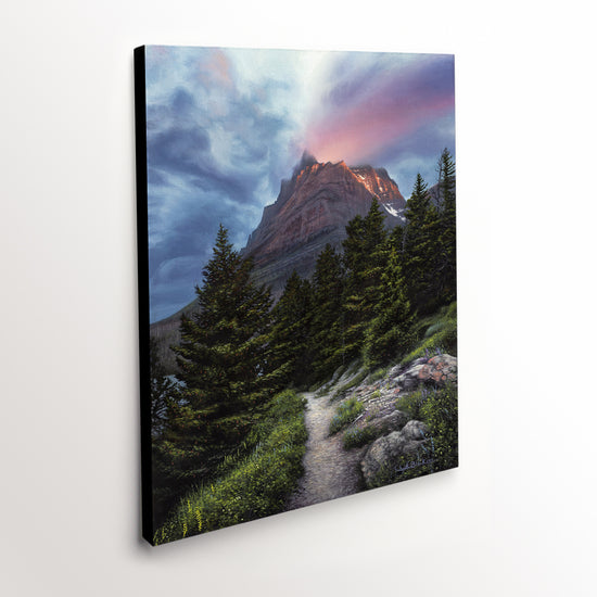 """Heavenly"" - Glacier National Park Landscape Art Print"