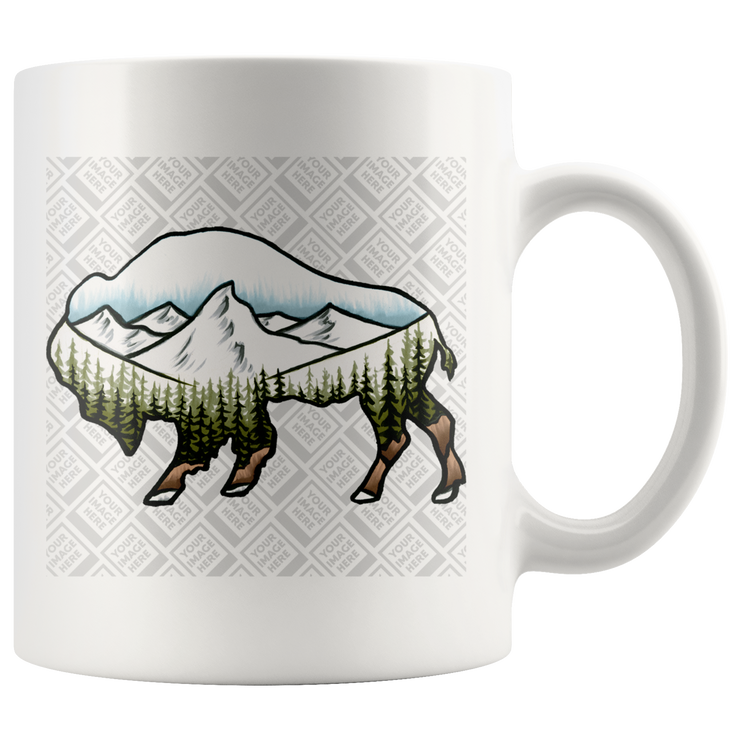 Drinkware Template - Wildlife and landscape art by Chuck Black