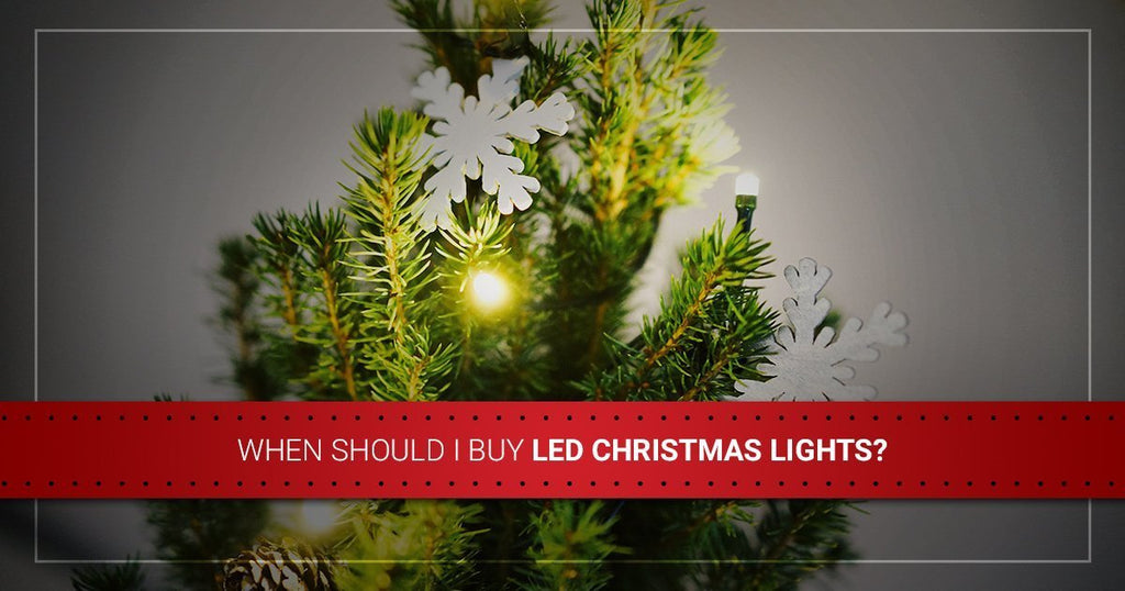 When Should I Buy LED Christmas Lights?