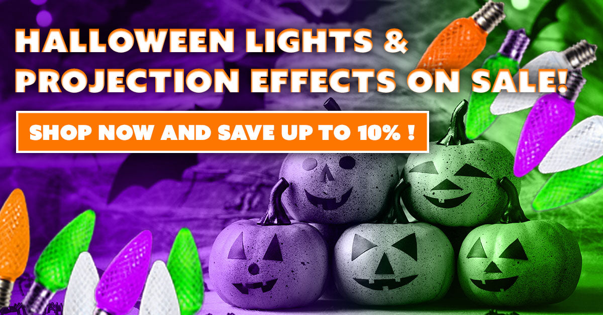 Halloween Lights and Projection Effects on Sale Now!