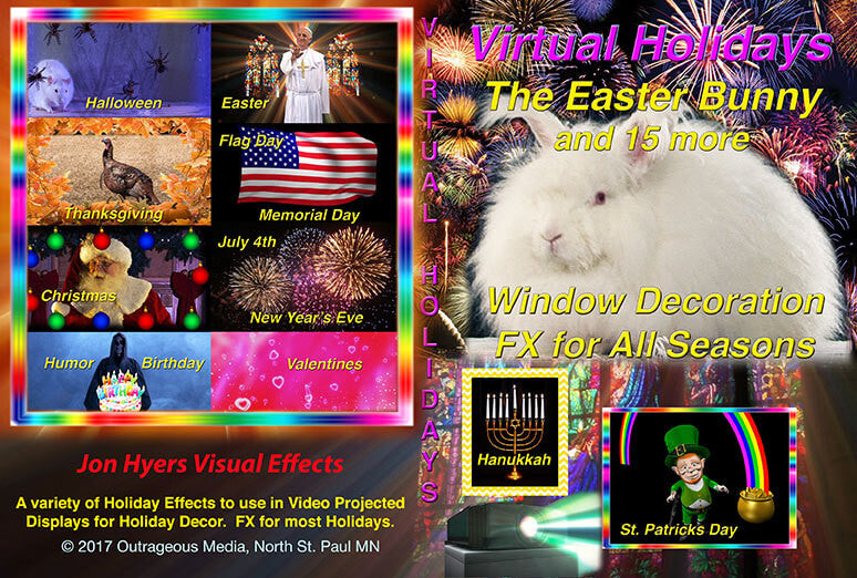 All Seasons Holiday Projection Effects for All Holidays