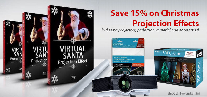 Christmas projection effects on sale
