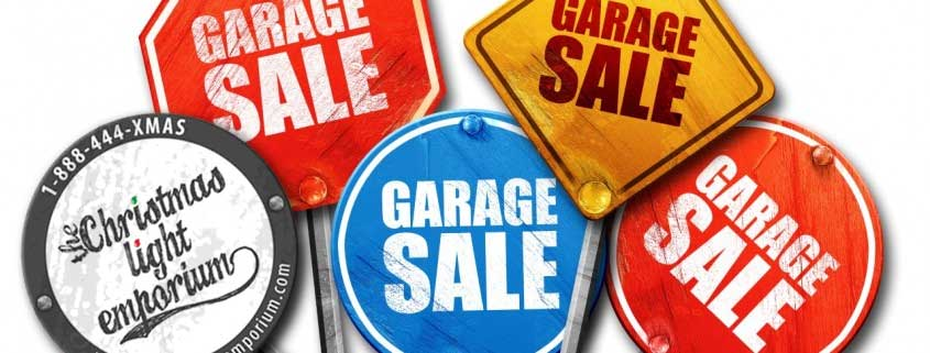 Welcome to Our Annual Garage Sale