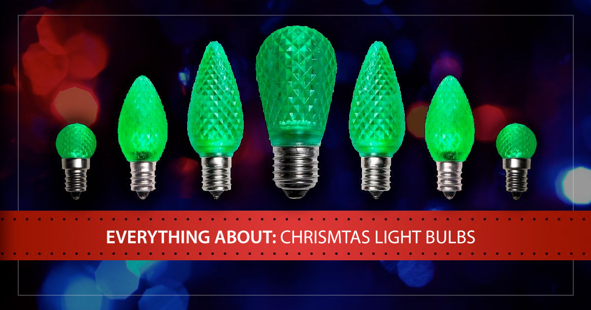 Everything You Need to Know About LED Christmas Light Bulbs