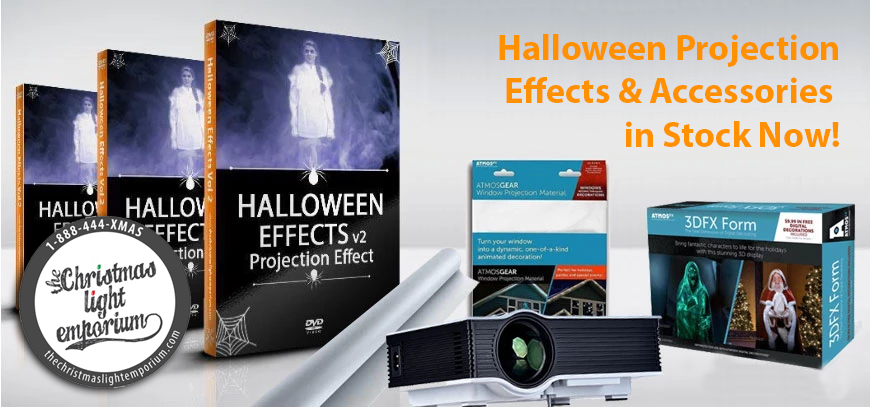 Halloween Projection Effects on Sale!
