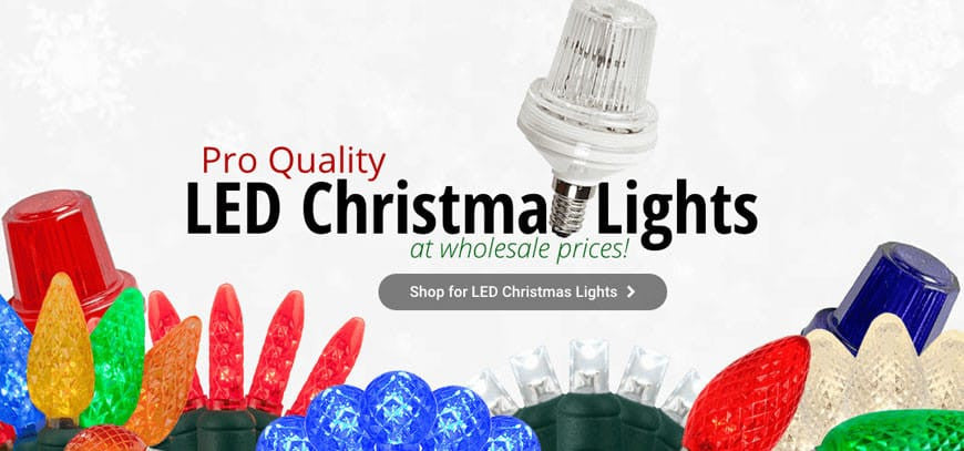 LED Christmas Lights and More