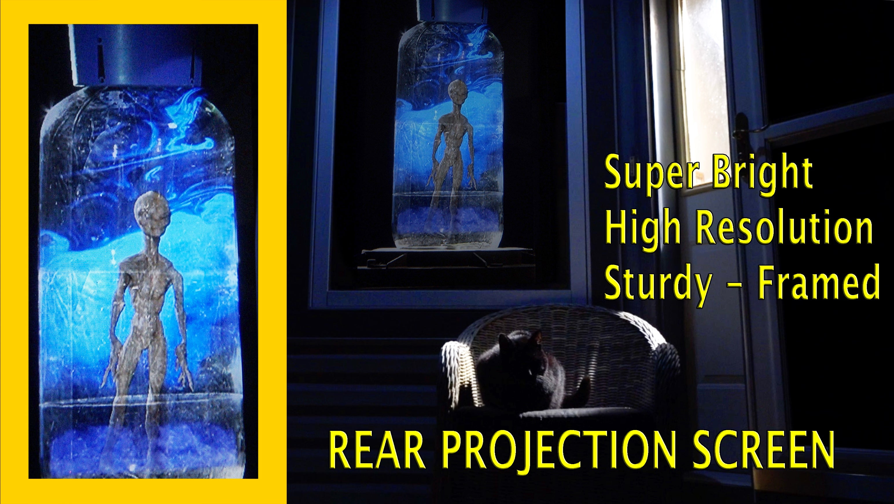 Hyers Pro Screen Professional Grade Top Quality Rear Projection Screen