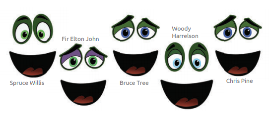 Singing Tree Faces