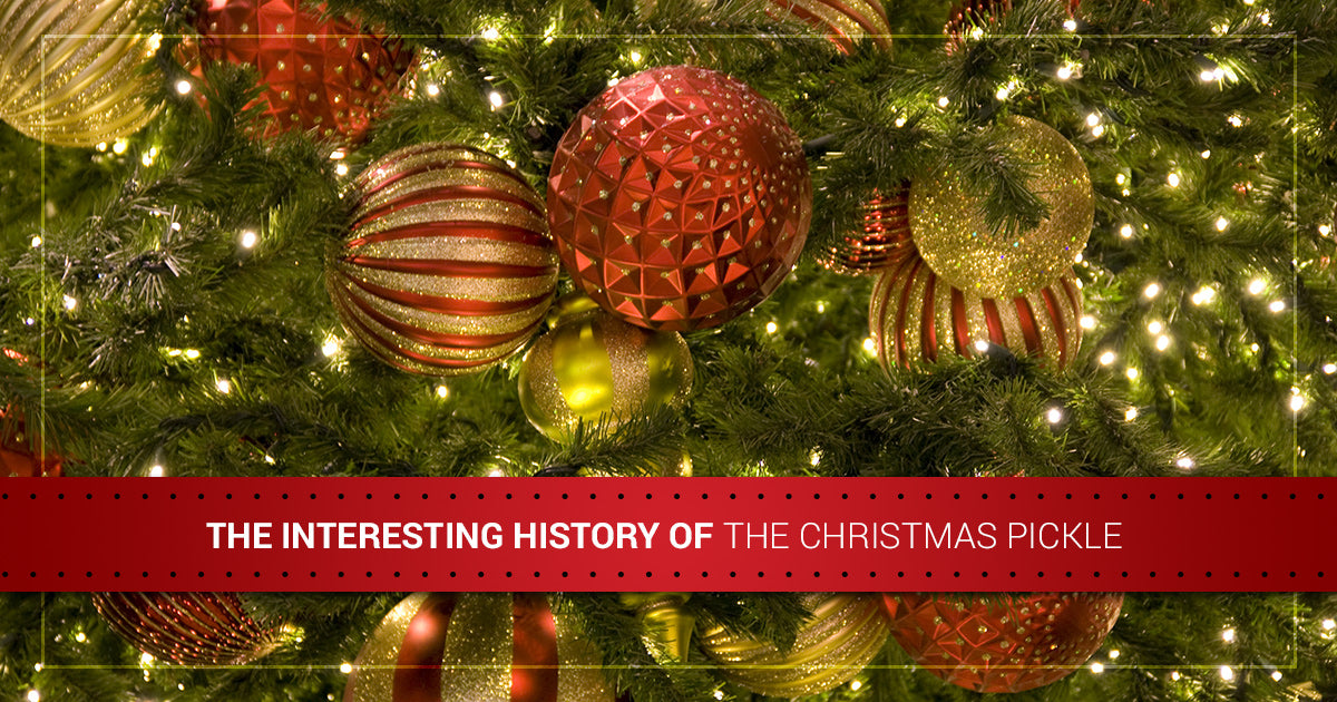 Hiding A Pickle In A Christmas Tree.Led Christmas Lights The Interesting History Of The