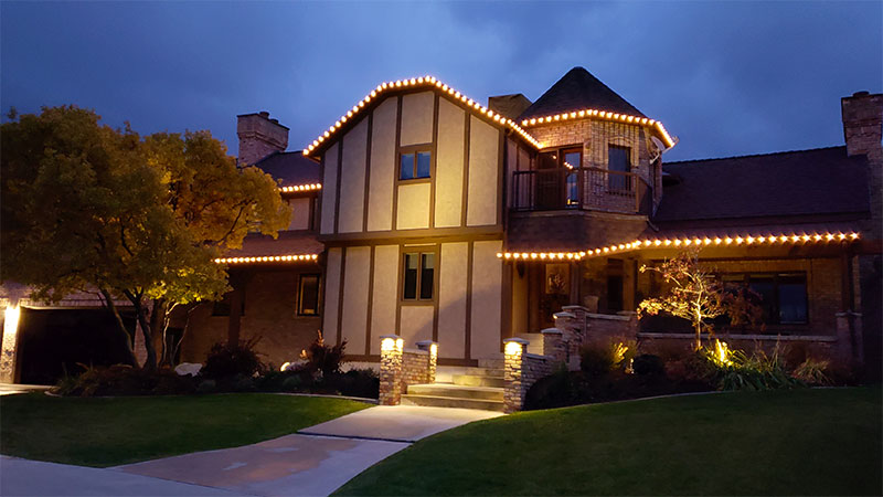 EverLights Classic Permanent Warm White Christmas Lights