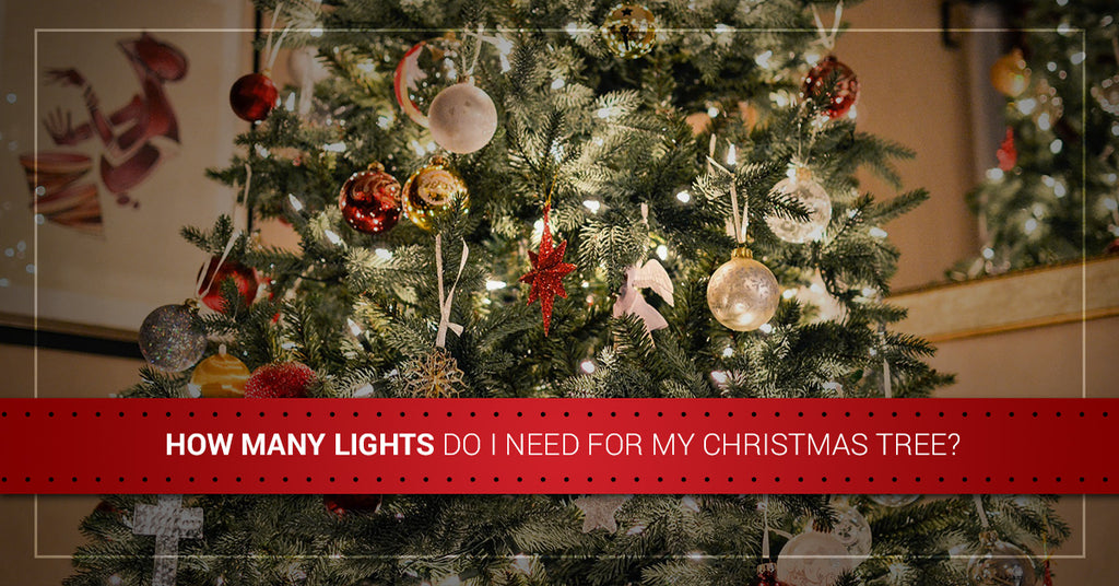 Led Christmas Lights How Many Lights Do I Need For My