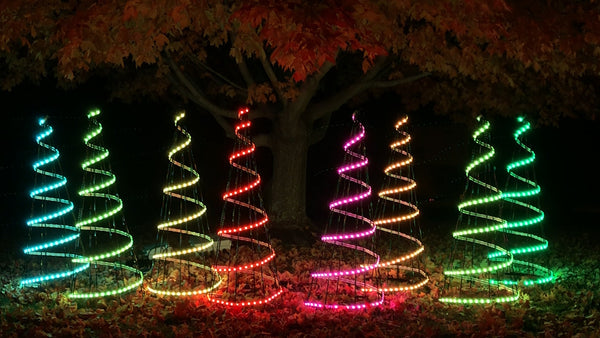 RGB Mini Trees