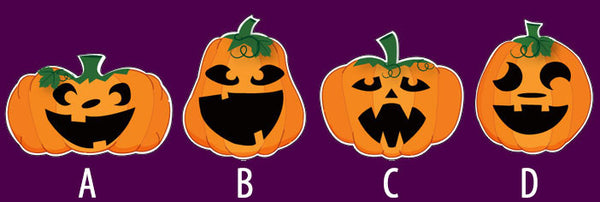 Singing Pumpkin Style Options