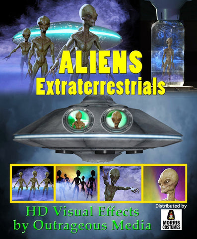 Aliens Extraterrestrials - Projection Effect - USB Version