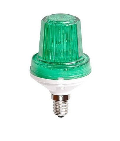 C9 Strobe Light - Green, Xenon Incandescent