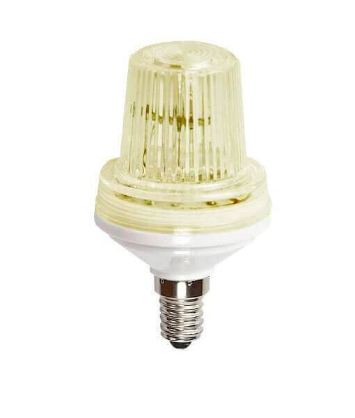 C9 Strobe Light - Warm White SMD LED