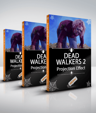 Dead Walkers 2 (Zombies 3) - Walking Dead Projection Effect - USB Version