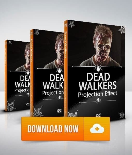 Dead Walkers HD - Walking Dead Projection Effect - Digital Download