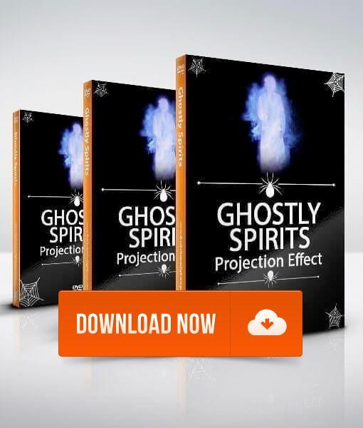 Ghostly Spirits - Projection Effect - Digital Download