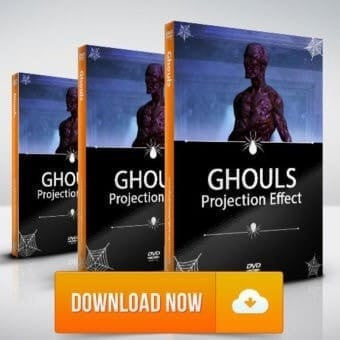 Ghouls HD - Halloween Projection Effects - Digital Download