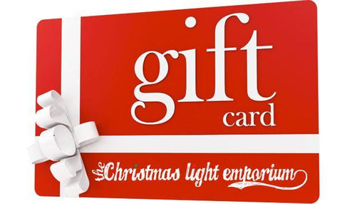 Gift Cards - The Christmas Light Emporium