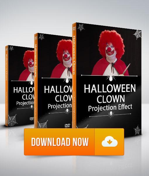 Halloween Clown - Projection Effect - Digital Download