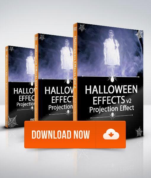 Halloween FX Volume 2 - Projection Effect - Digital Download