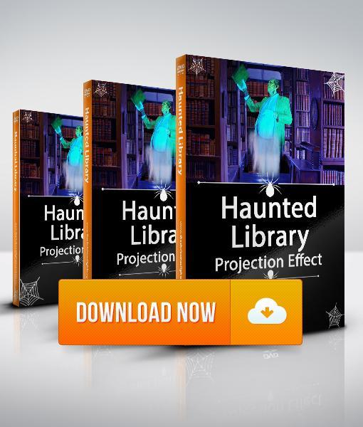 Haunted Library - Projection Effect - Digital Download
