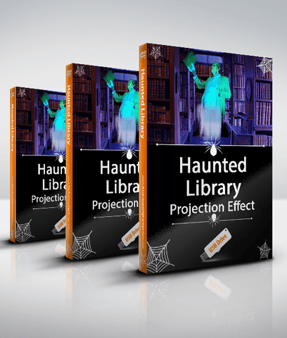 Haunted Library - Projection Effect - USB Version
