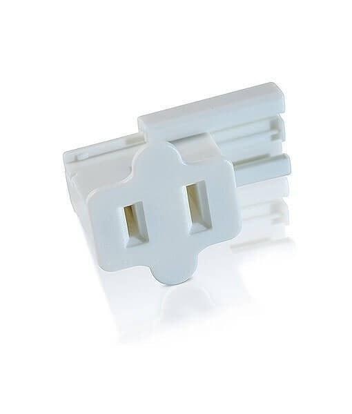 Slide-On Plugs / Vampire Plugs - SPT1 - Female - Pack of 25 - White