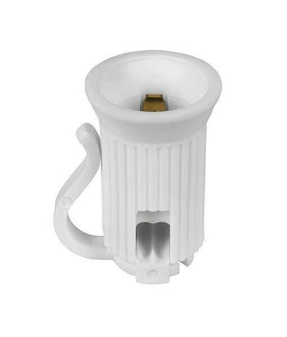 Replacement Sockets - C7 / E12, SPT1, Pack of 25 - White