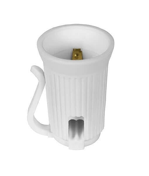 Replacement Sockets - C9 / E17, SPT1, Pack of 25 - White