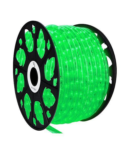 "Rope Light - Green -1/2"" LED - 150' Spool"