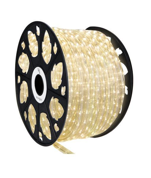 "Rope Light - Warm White - 1/2"" LED - 150' Spool"