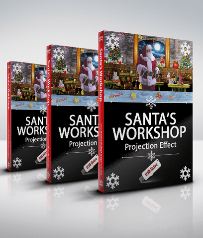 Santa's Workshop and Elves Toy Factory - USB Version
