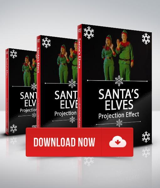 Santas Elves - Projection Effect - Digital Download