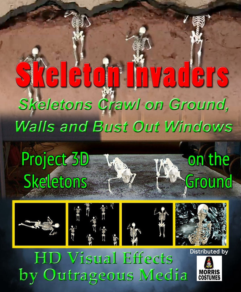 Skeleton Invaders - Projection Effect - USB Version