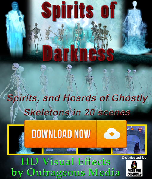 Spirits of Darkness - Projection Effect - Digital Download