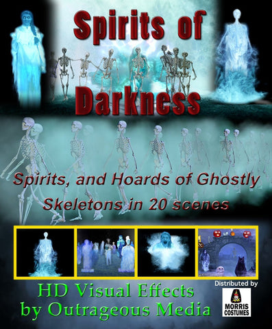 Spirits of Darkness - Projection Effect - USB Version