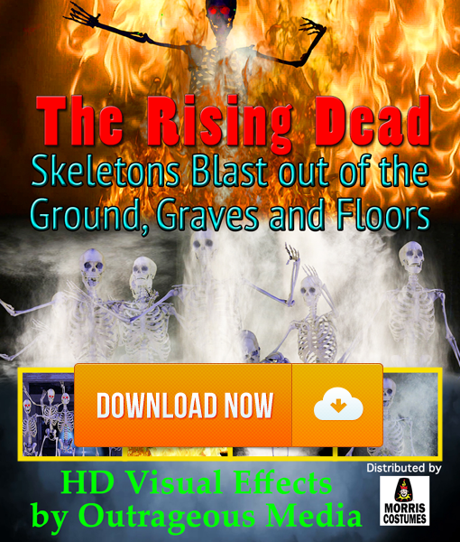 The Rising Dead - Projection Effect - Digital Download